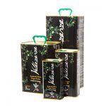 Conjunto latas de aceite selección especial